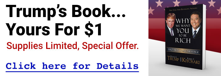 Trumps's Book... Yours For $1