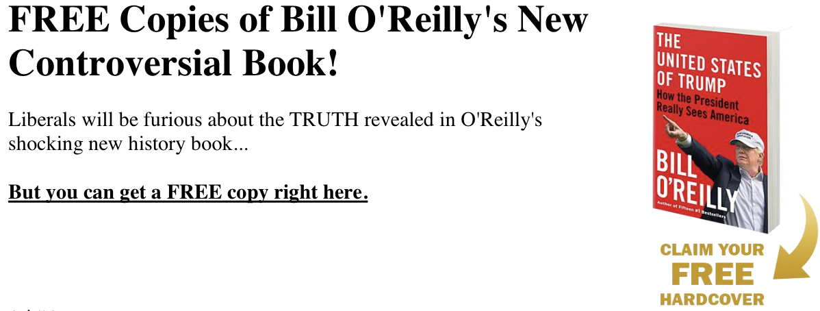 Bill O'Reilly's New Book