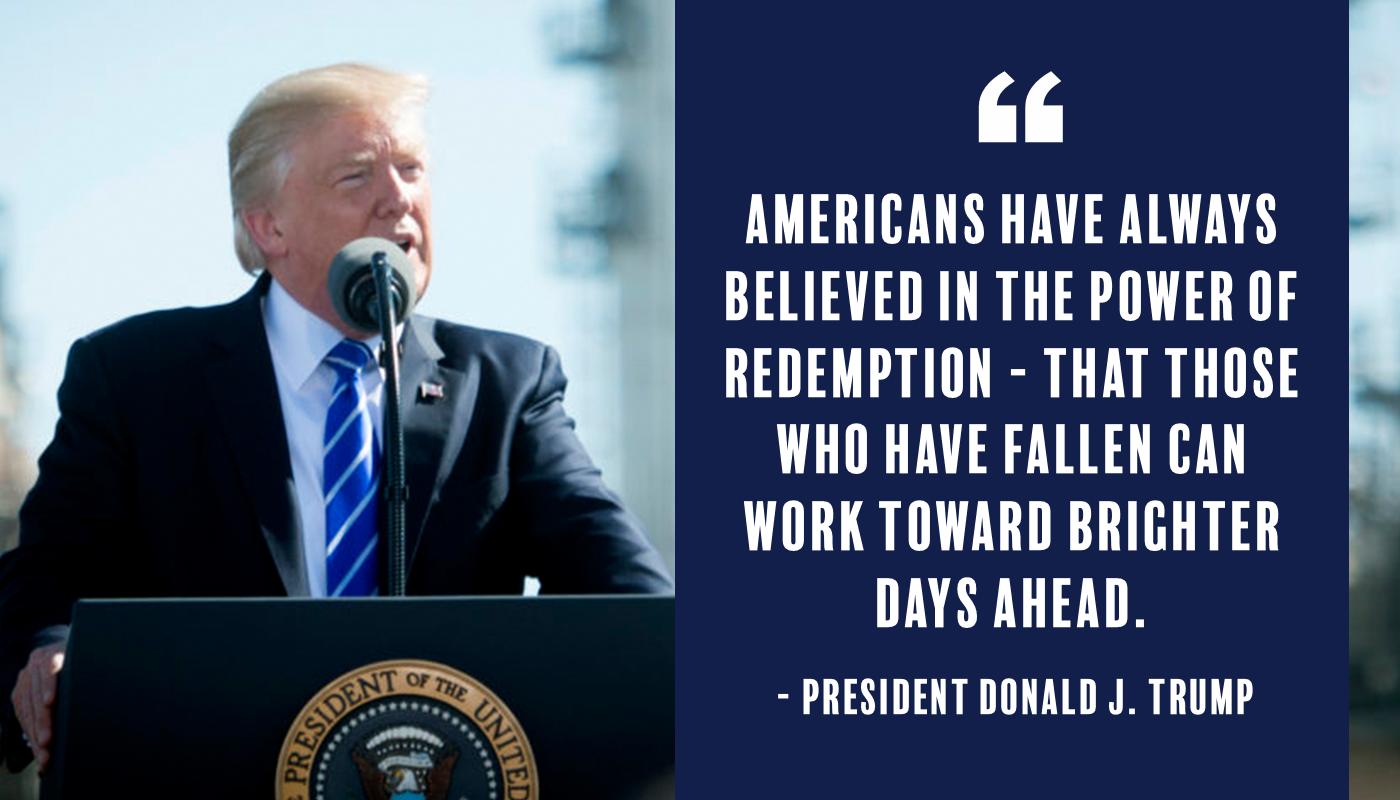 - President Donald J. Trump