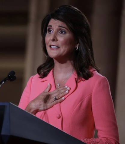 Nikki Haley at RNC Convention 2020