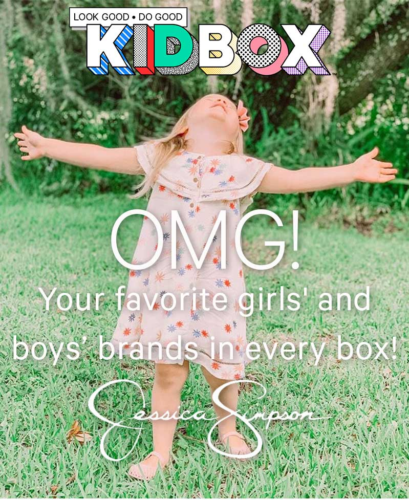 Your favorite girls' and boys' brands in every box!