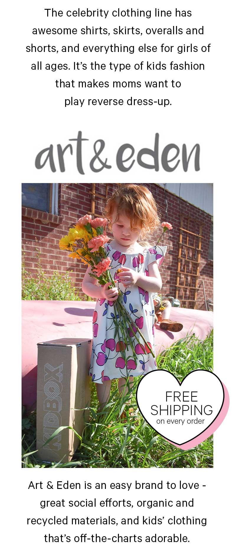 Art & Eden for girls!