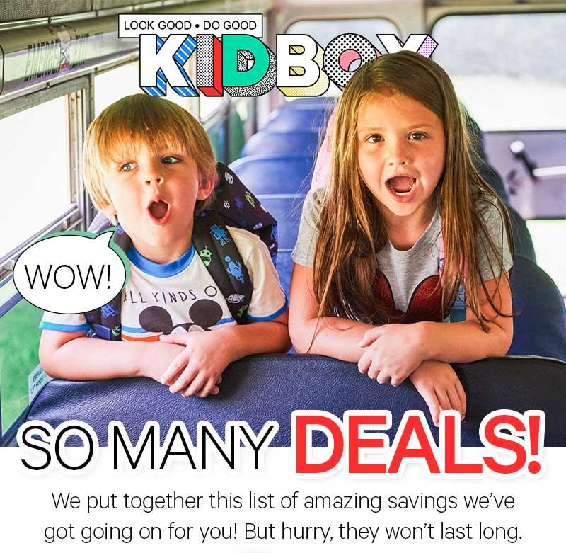 So Many Deals!