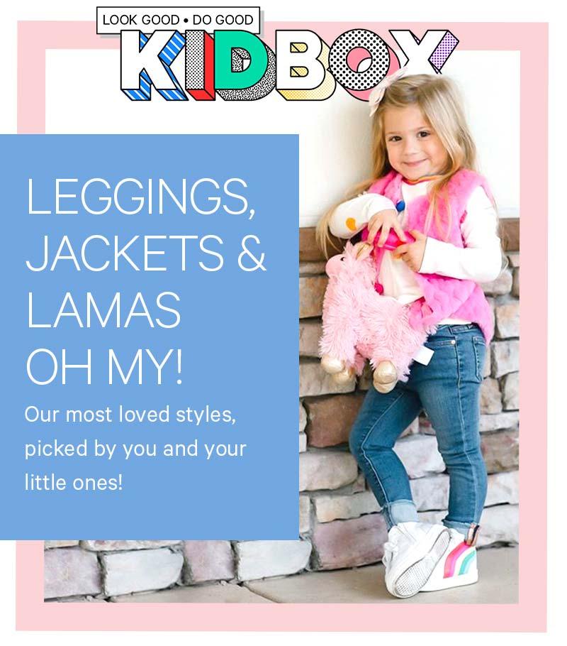 Leggings, Jackets & Lamas Oh My!