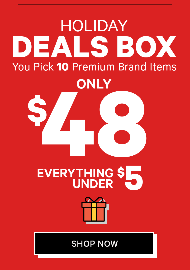 10 items for only $48