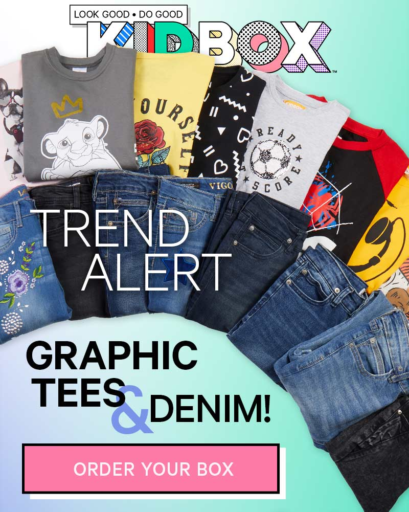 Graphic Tees and Denim!