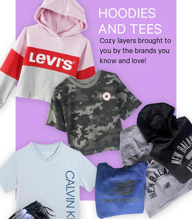 Cozy layers brought to you by the brands you know and love!