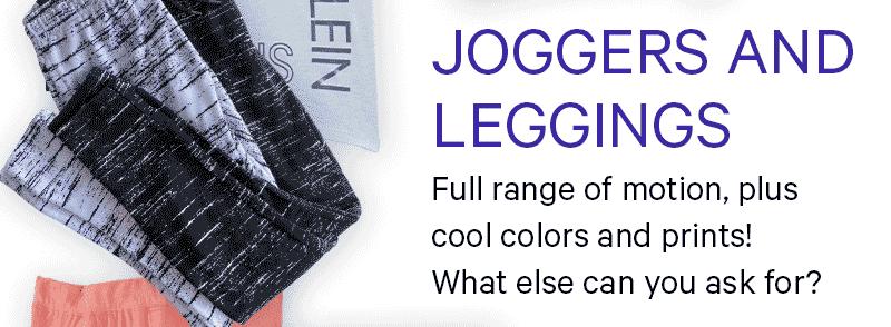 JOGGERS AND LEGGINGS
