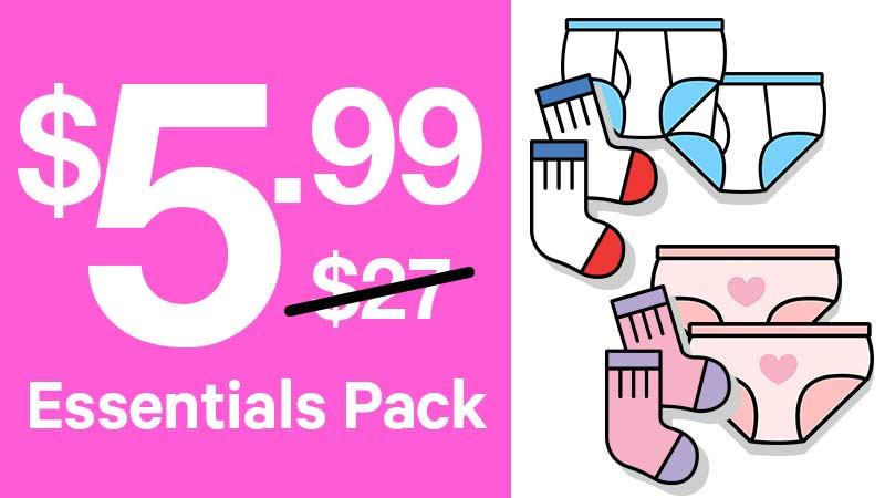 Essential Packs $5.99 (originally $27)