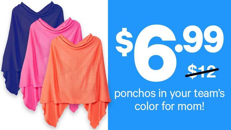 Ladies ponchos $6.99 (originally $12)