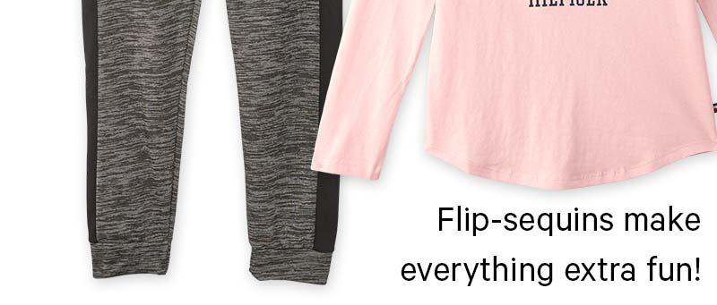 Flip-sequins make everything extra fun!