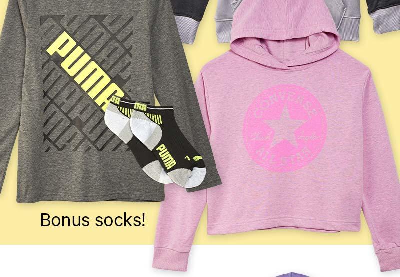 Bonus socks!