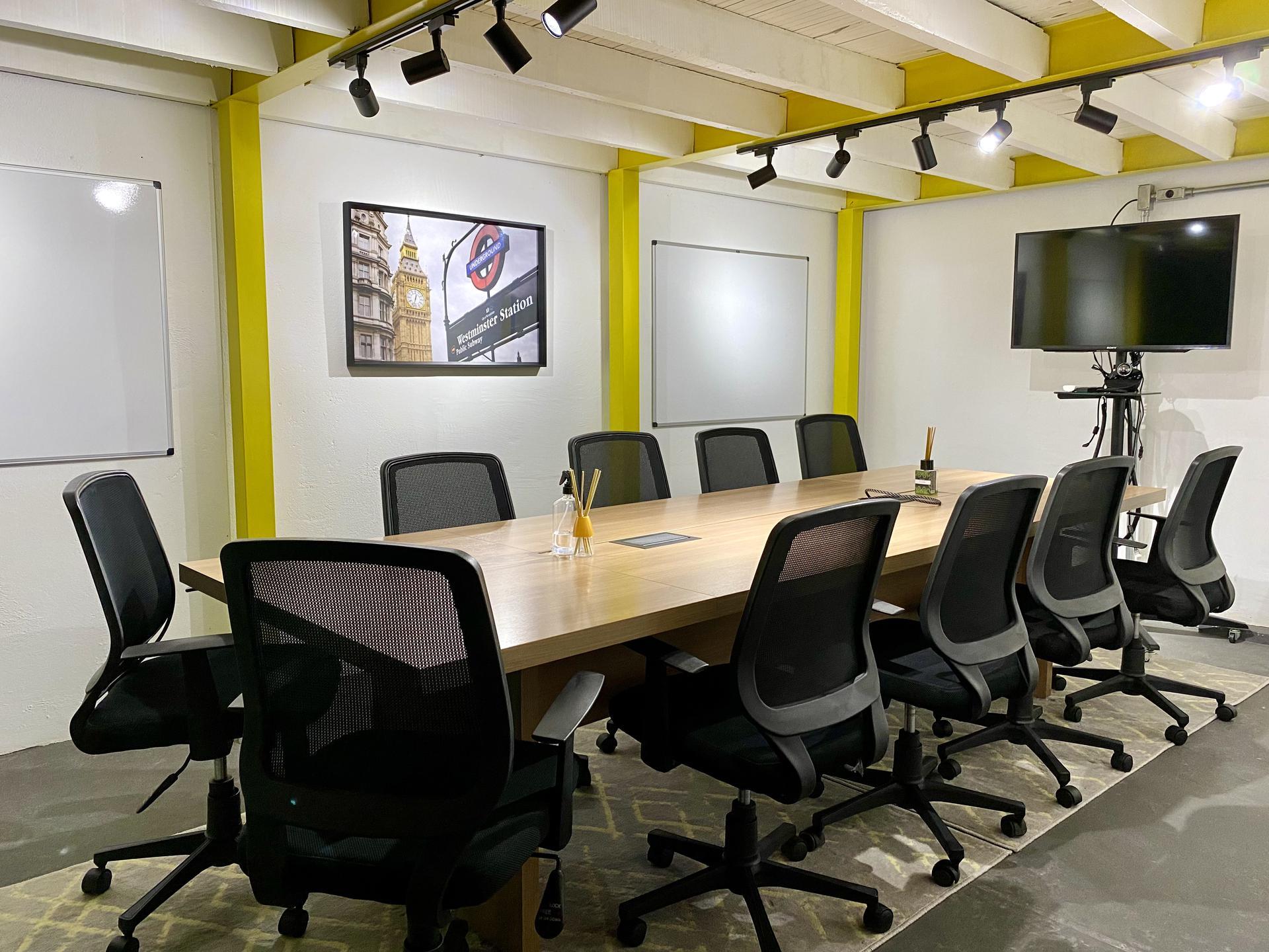 Sala de reunião Underground