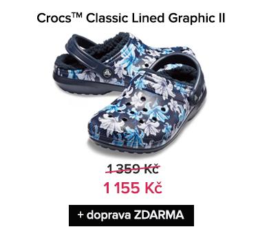 Crocs Classic Lined Graphic II