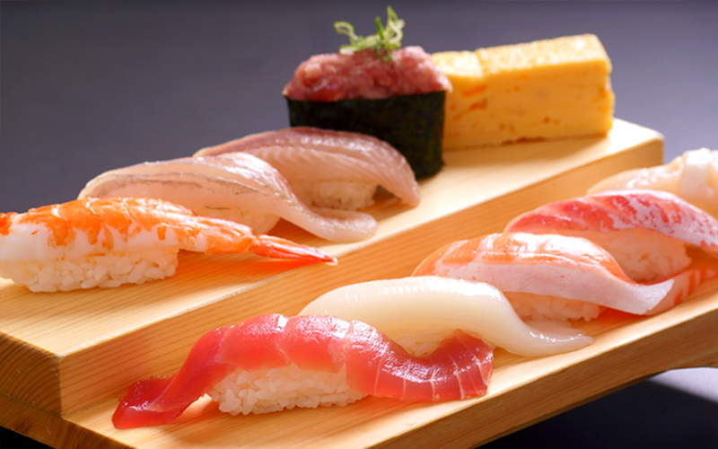uogashi - 10 pieces of Chef Special Sushi, only at $16.80++