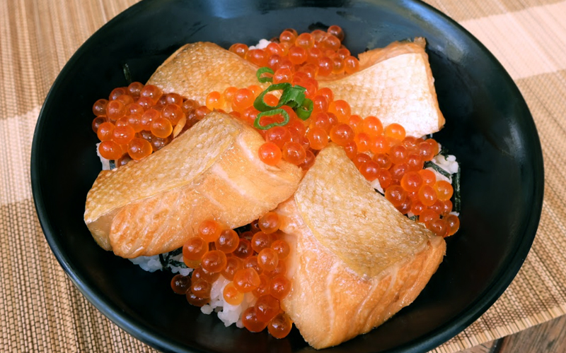 sandaimebunji - Salmon or Ikura Lover? Check out this Miyagi Prefecture Traditional Dish - Harako Meshi~