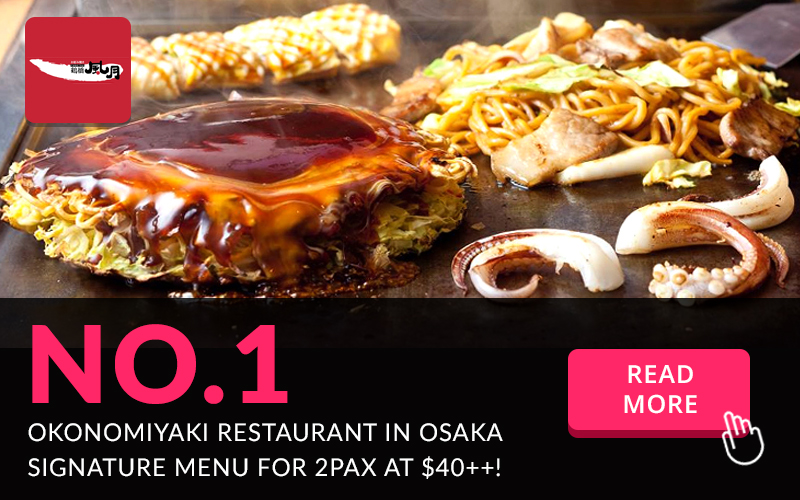 $40++ Okonomiyaki Course Set for 2