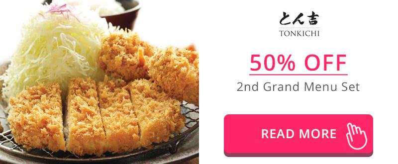 50% Off 2nd Grand Menu Set