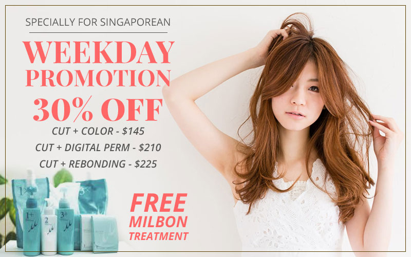 kansha - Special Promotion Just for you! 30% OFF plus FREE Milbon Treatment!
