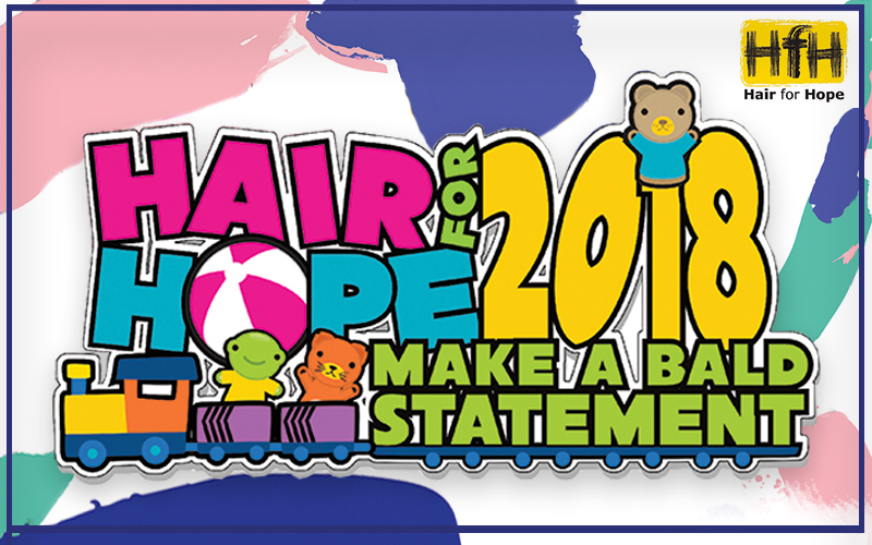 qbhouse - Hair for Hope 2018: Make a Bold Statement at QB House!