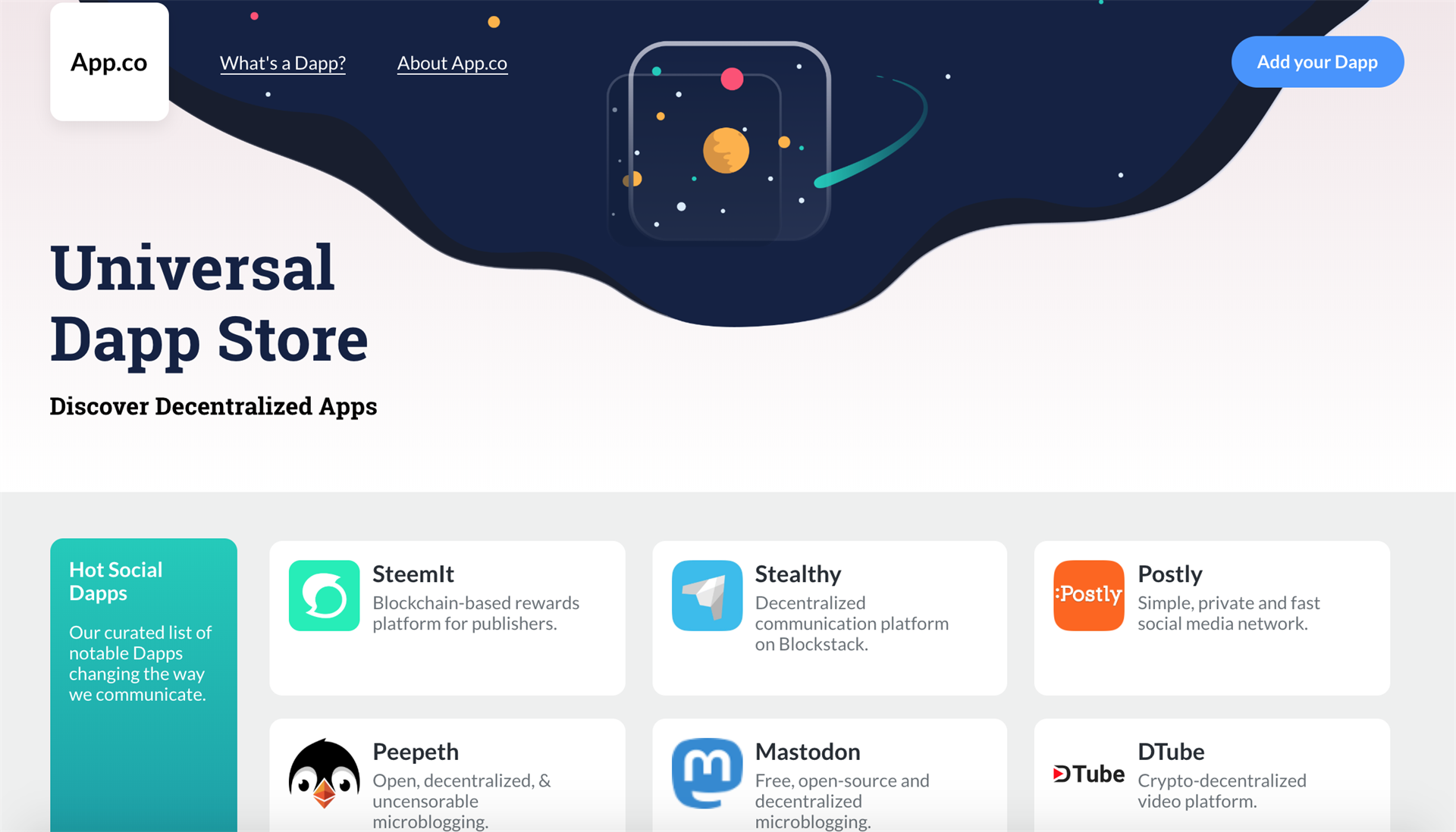 app.co, dapps