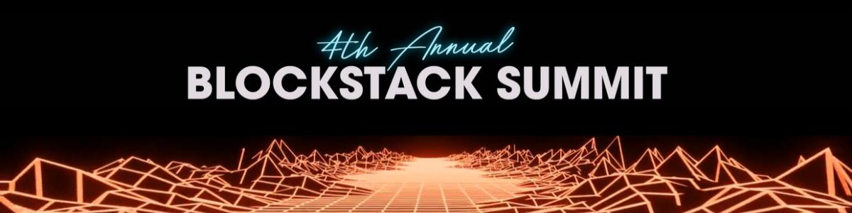 Blockstack Sumit