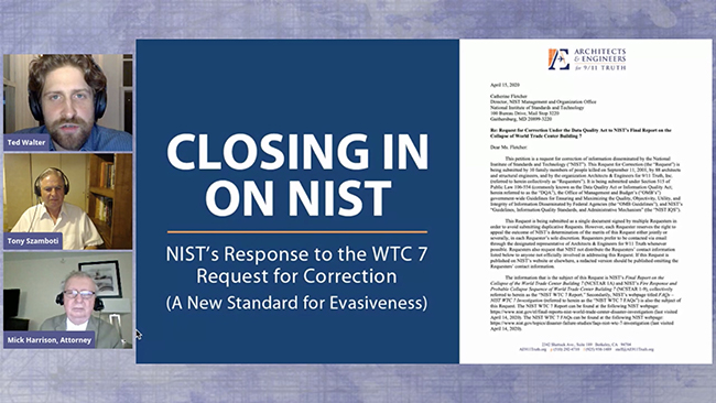 Closing in on NIST