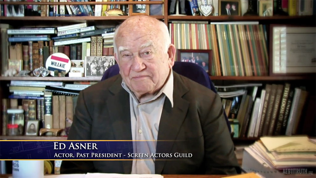 AE911Truth honors the life and activism of Ed Asner