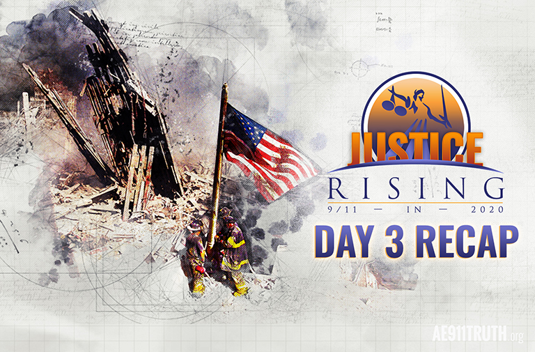 Ganser, Whitehead, Corbett Place 9/11 Truth in Wider Context: Justice Rising Day 3