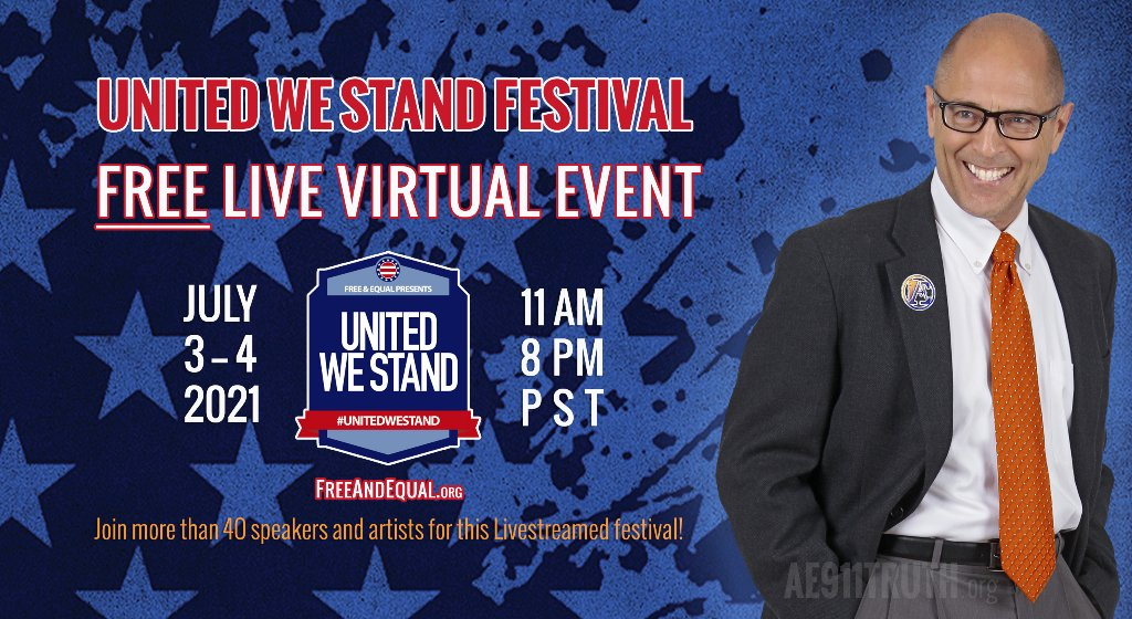 Richard Gage appearing live at United We Stand Festival
