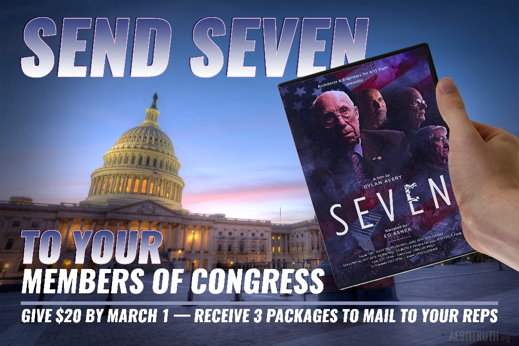 RECEIVE THREE DVDS TO MAIL TO CONGRESS