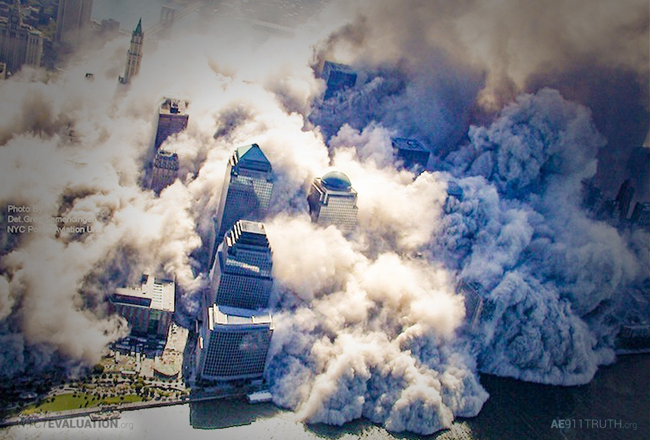 How did explosives get in the World Trade Center?