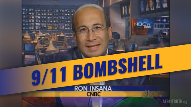 CNBC's Ron Insana: Building 7 a 'Controlled Implosion'