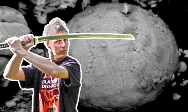 Refuting a video game programmer/demolition denier/ninja with science