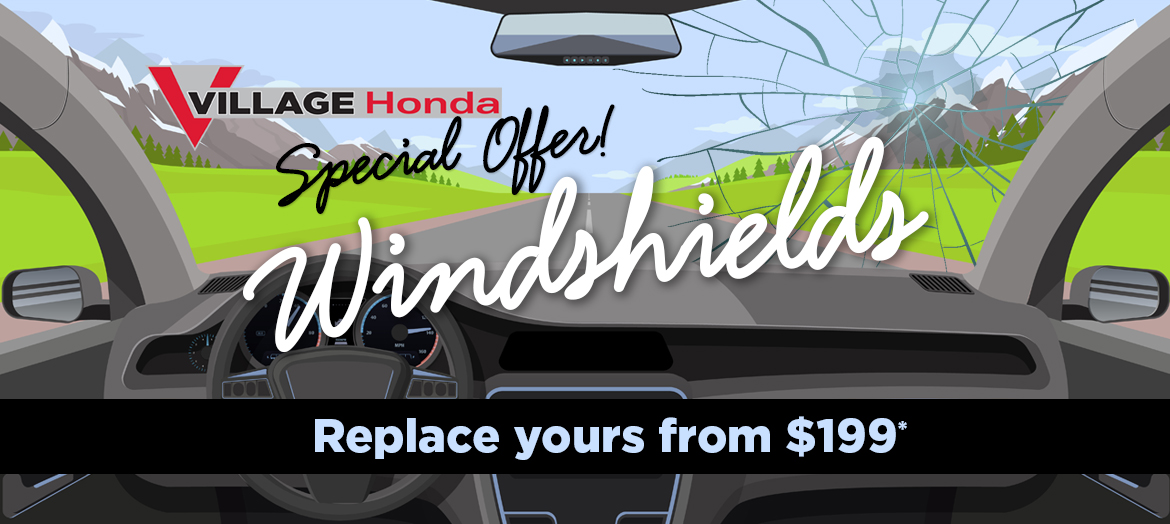 Windshields from $199