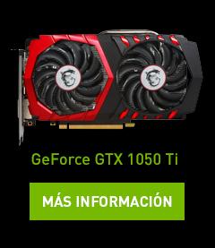 Geforce© GTX 1050 Ti