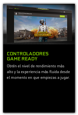 Controladores Game Ready