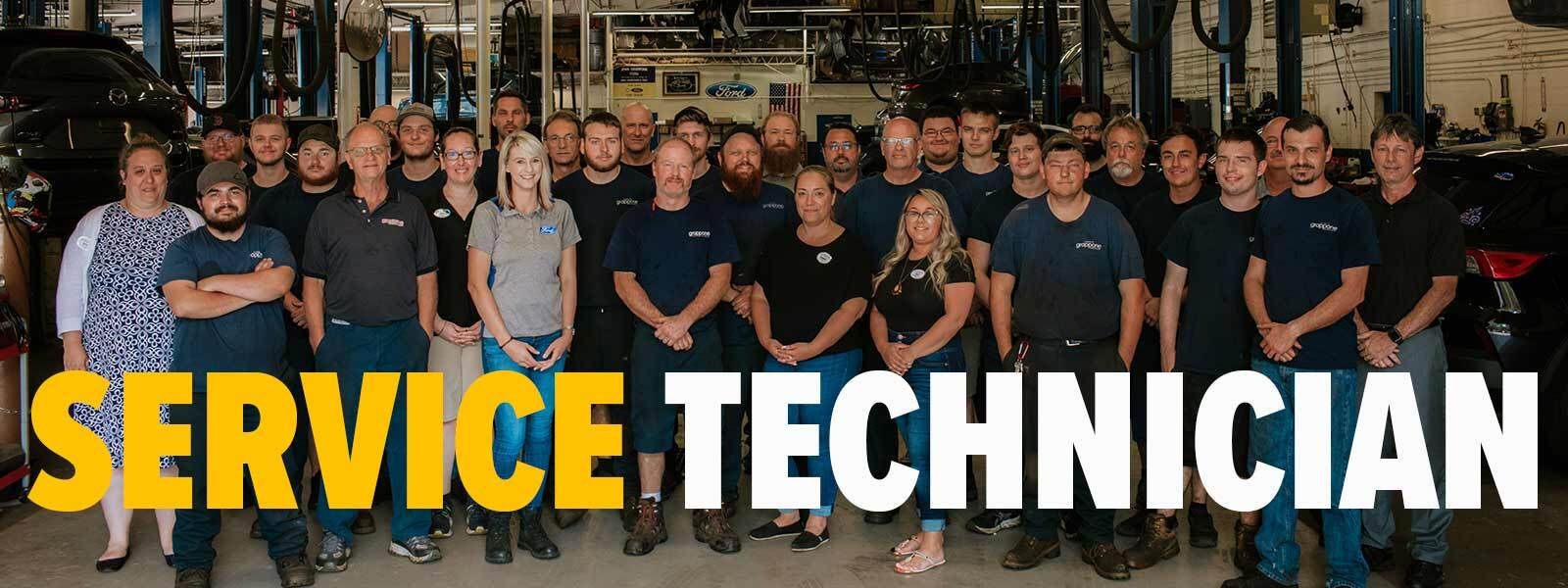 Grappone Service Team --- Service Technician
