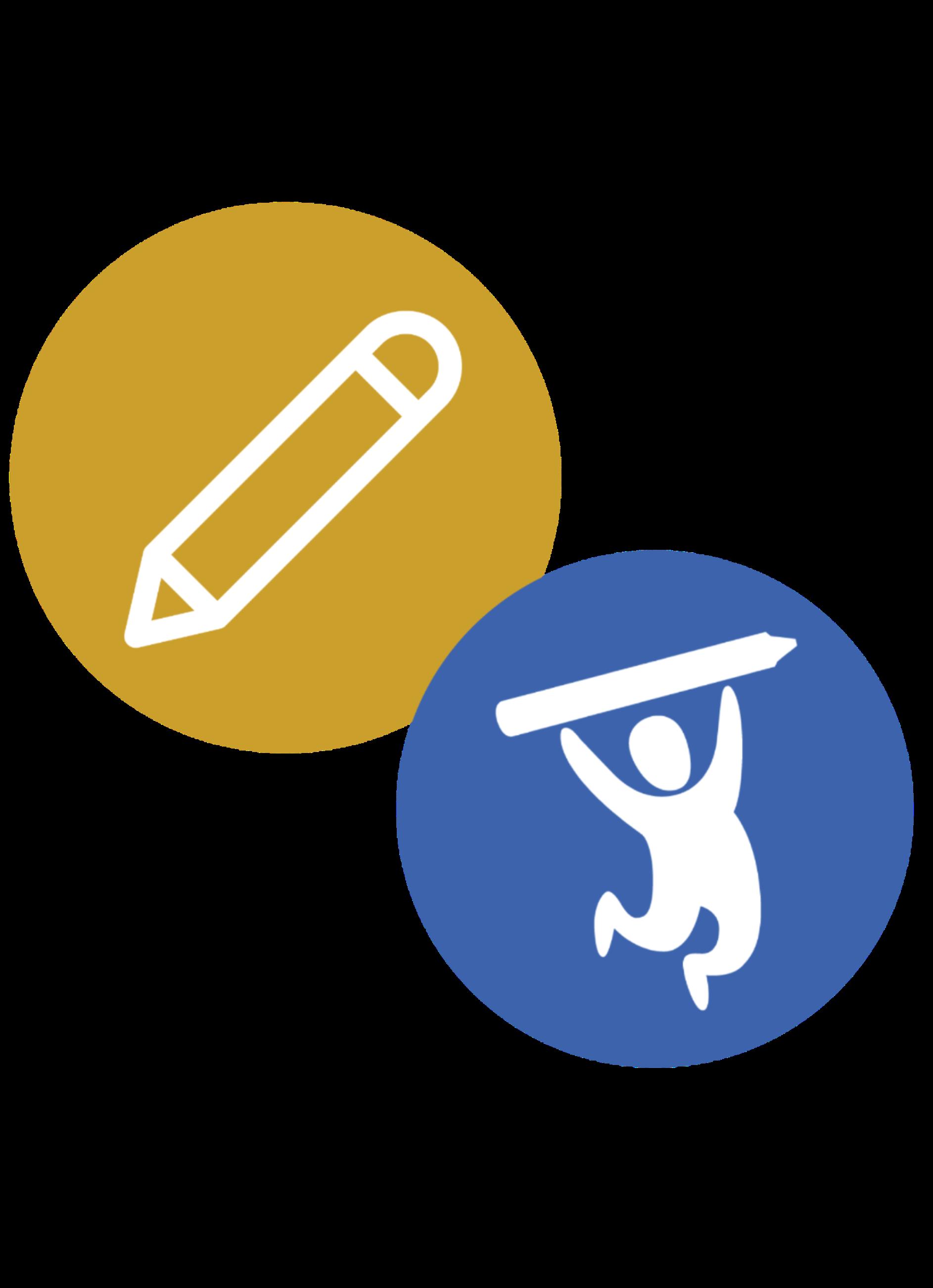 Pencil & School Tool Box Logo