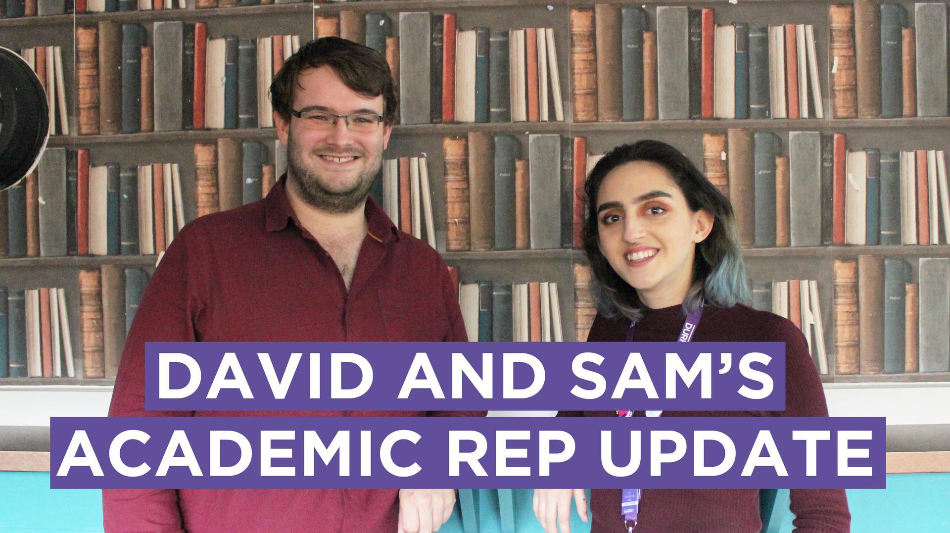David and Saul's Academic Update
