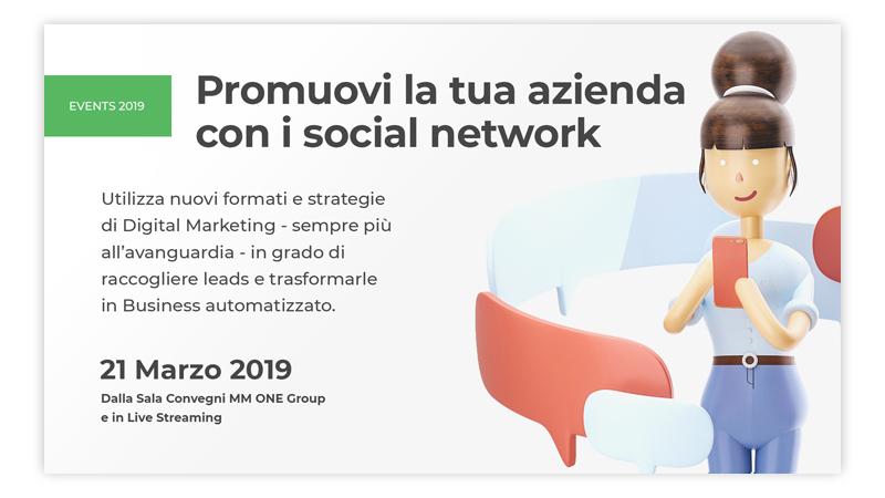 Promuovi la tua azienda con i social network
