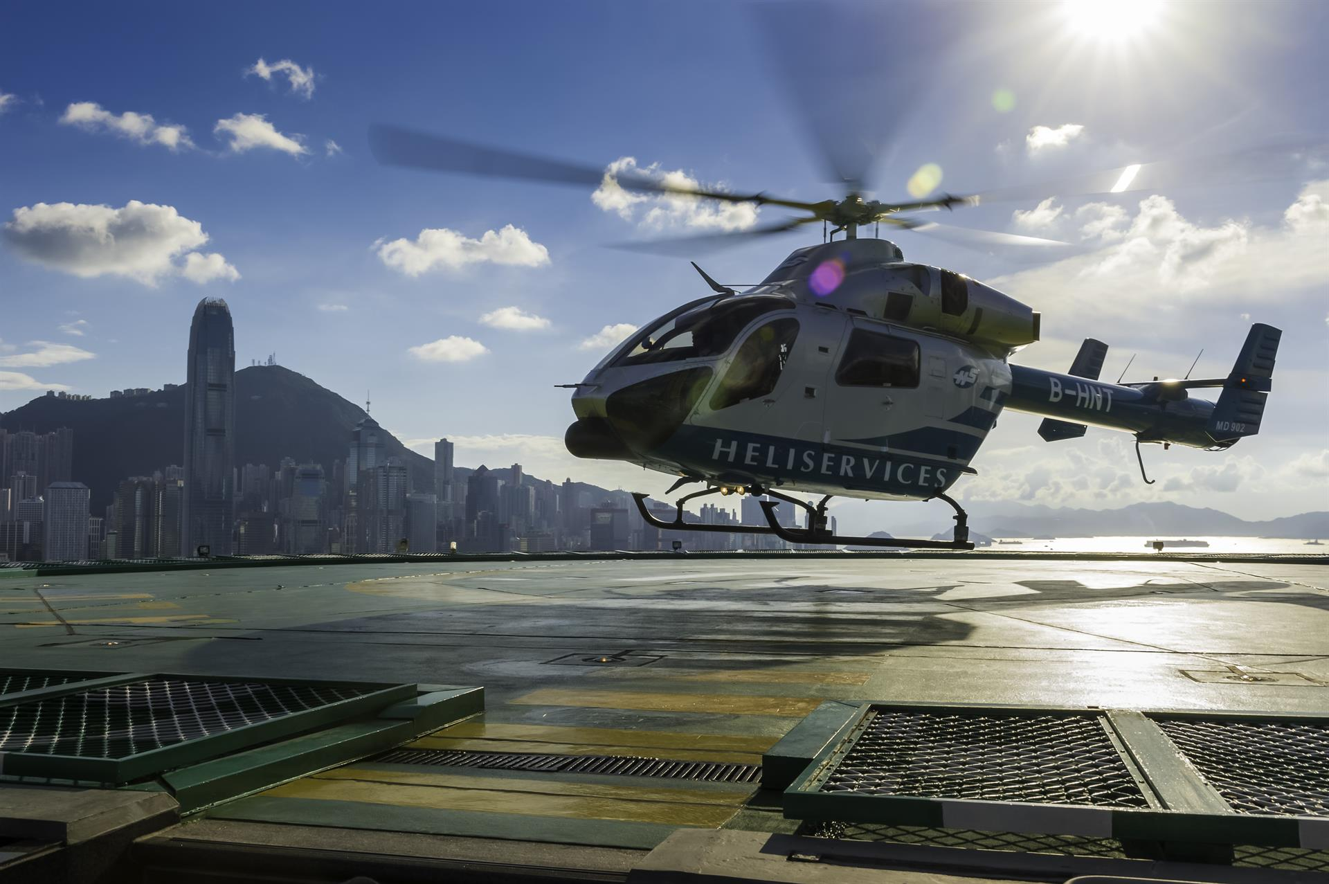 Hong Kong Helicopter Tour and Afternoon Tea