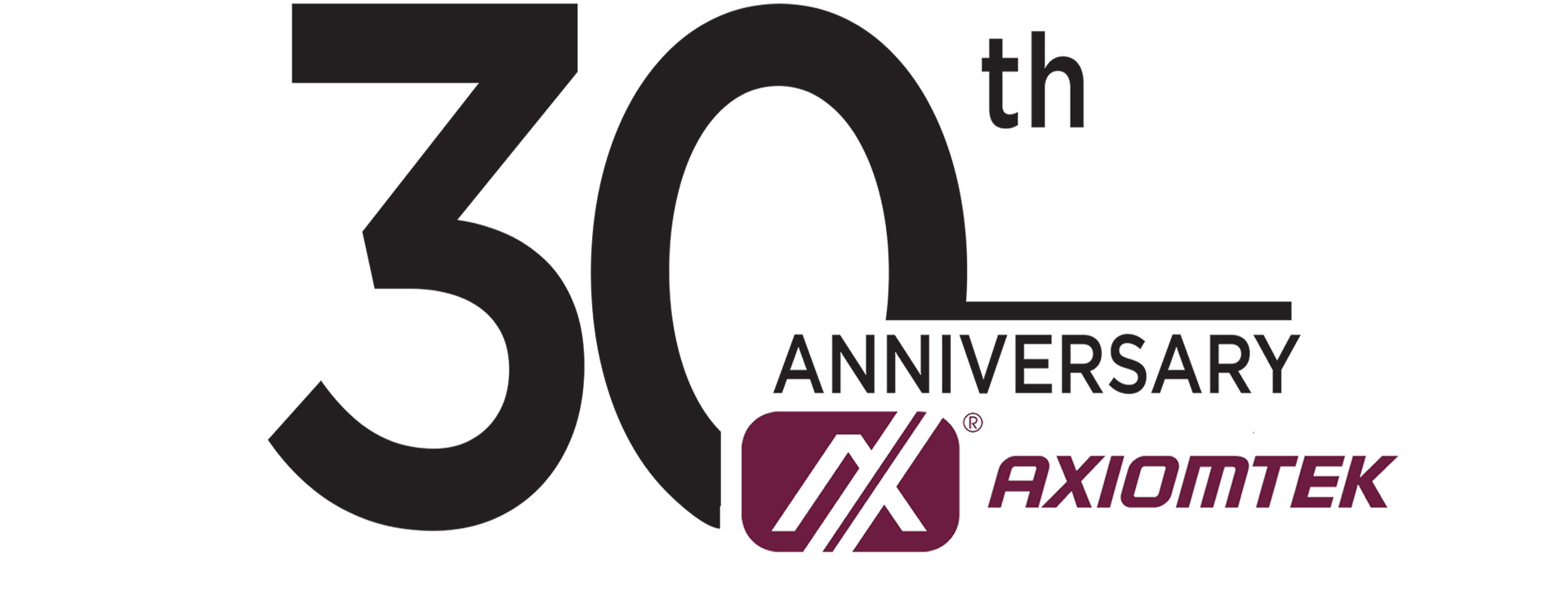 Axiomtek 30th Anniversary