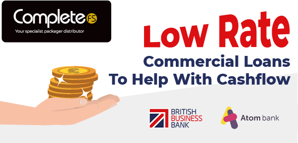 Low Rate Commercial Loans To Help With Cashflow