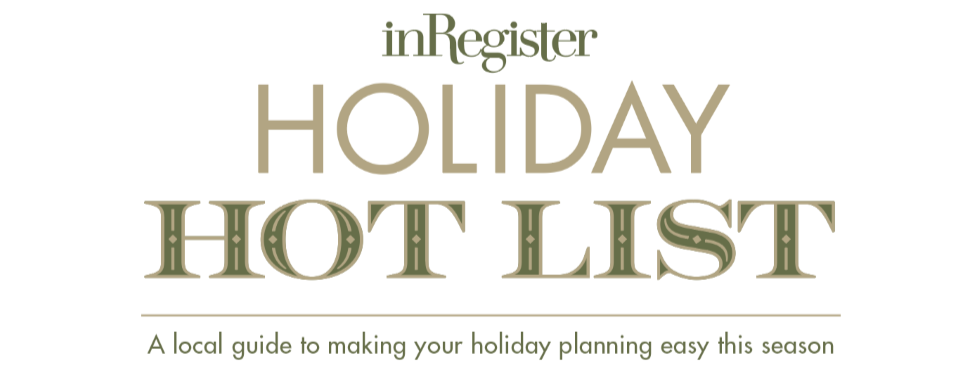 inRegister Holiday Hot List