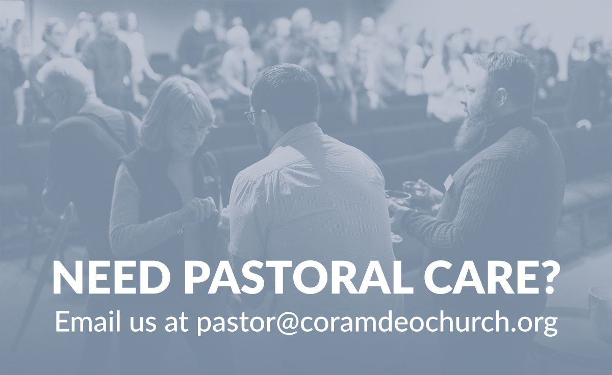 Need Pastoral Care?