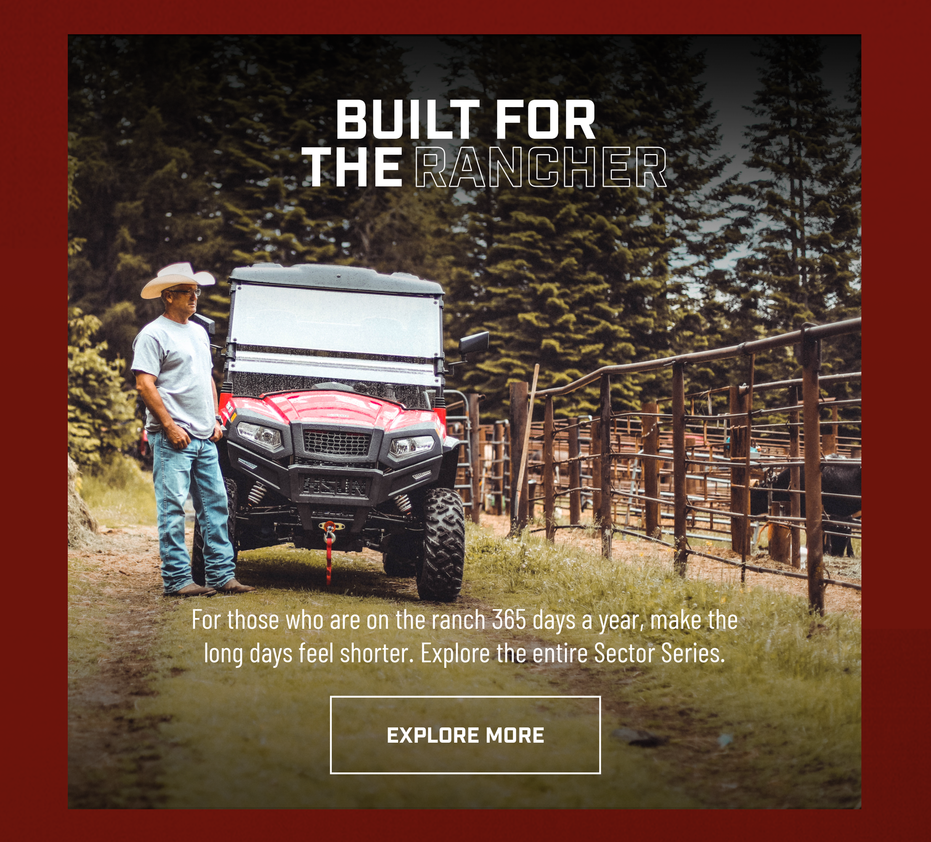 Built For The Rancher