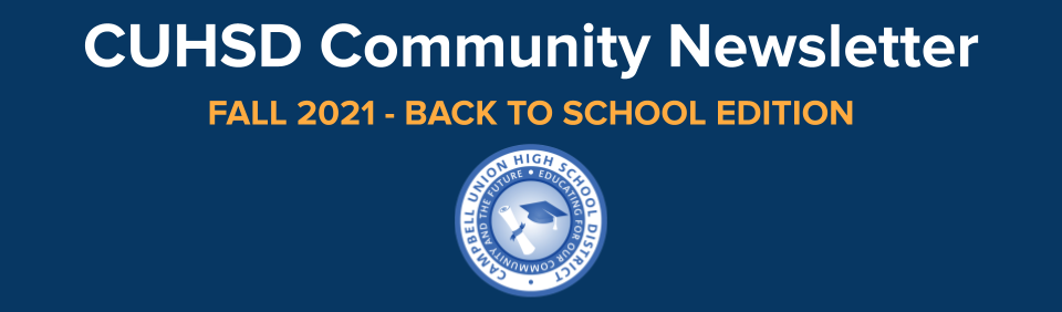 CUHSD community newsletter graphic