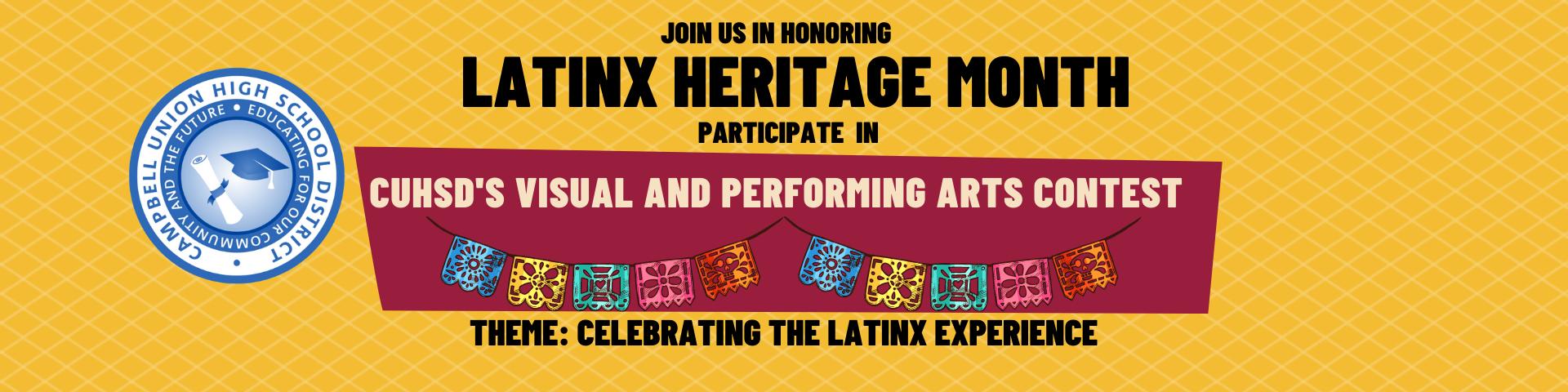 Latino Heritage Month Poster
