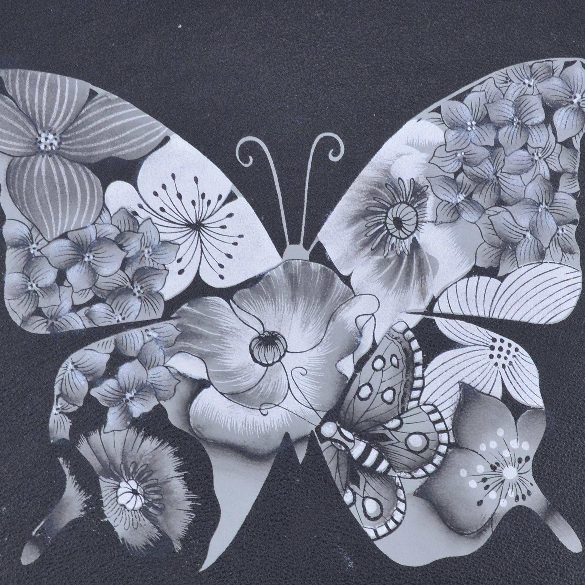 Black, butterfly